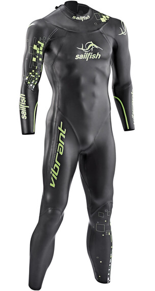 sailfish Vibrant - Vêtement triathlon Homme - vert/noir